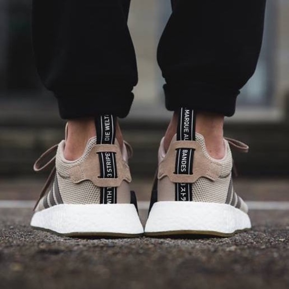 1e4a4c1dd1e Adidas Originals NMD R2 Trace Khaki Simple Brown